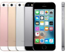 iPhone 5SE in Rose, Gold, Silver, and Space Grey
