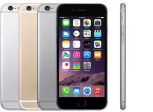 iPhone 6 in Silver, Gold, and Space Grey